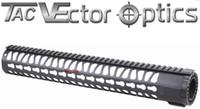 Wholesale Ar Picatinny - Vector Optics AR 10 Keymod 15 Inch Tactical Free Float One Piece Handguard Picatinny Rail Mount System fit AR-10 .308