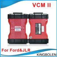 Wholesale Land Rover Ids - Newest High Quality Ford VCM II IDS V96 JLR V141 Ford Jaguar Land Rover Diagnostic Tool Vehicles OBD II Scanner VCM2 Multi-language DHL Free