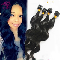 Wholesale Luffy Hair Virgin Brazilian Micro Loop Human Hair Extensions Body Wave Micro Ring Hair Extensions strand gram