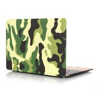 capa de plástico para laptop venda por atacado-Mac laptop desenho padrão de pasta de água de proteção de plástico shell tampa do caso da aleta para macbook air pro 11.6 polegada de 12 polegadas de 13.3 polegadas 15.4 polegada opp