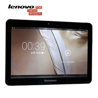 Lenovo 3G Tabletten 10,1 Zoll Quad Core Phablet Tablet 2 GB + 16 GB ROM GSM SIM Karte Android 4.4 Computer installieren Tablet PC