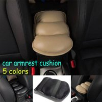 Wholesale Center Console Arm Rest Universal - Hot sales Car Auto Armrests Cover Vehicle Center Console Arm Rest Seat Box Pad Protective Case Soft PU Mats Cushion Universal