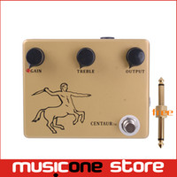Wholesale Electric Guitars Effects - KLON CENTAUR Professional Overdrive-Clone-Guitar Effect Pedal Free shipping MU0380