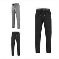 Wholesale Men Harem Long Trousers - Fine quality UA Jogger Chinos Skinny Joggers Solid color Men New Fashion Harem Comfortable Long Solid Color Pants Men Trousers