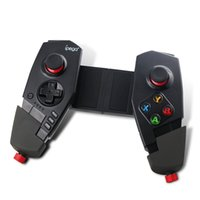Wholesale arcade gamepad - IPEGA PG - 9055 Red Spider Wireless Bluetooth Gamepad Telescopic Game Controller Gaming Joystick For Android IOS Tablet PC