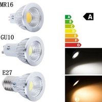 Wholesale Mr16 Epistar Cob Dimmable - CREE Led lights Bulbs B22 GU10 MR16 E14 GU5.3 E27 cob 9W 12W 15W Dimmable Led Spotlights led downlight lamp 12V 85-265V