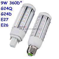 Wholesale Led Light Plc - G24 LED PLC light 11W 9W 7W 5W CFL bulb LED replacement 120V 230V 277V 4000K 5000K 6000K DHL Fedex free shipping