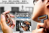 Wholesale Carzor Portable - Ultra-portable Card Shaver   Mini Card Shaver Pocket Razor,Card Size CARZOR pocket Razor Free Shipping by DHL Fedex 50pcs lot