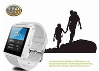 Wholesale Mobile Unlock Watch - Free shipping 2016 U8 smart watch phone Android mobile smartwatch U8 with touch screen camera bluetooth single SIM phone unlocked