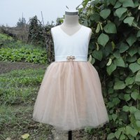 2015Lace Flower Girl Dress - Laço Pettidress-Shabby Vestido Chic Girl-Vintage 1_14