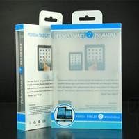 ipad mini paketi toptan satış-2015 Evrensel 7 inç tablet PC PVC Plastik perakende paket ambalaj ipad PU PC kasayı Taşınabilir bilgisayar ipad mini için Kutuları kutusu