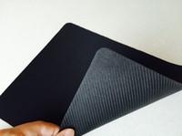 dizüstü bilgisayar ücretsiz gönderim dhl toptan satış-DHL Ücretsiz Nakliye Toptan Kaymaz Dizüstü Bilgisayar PC Fareler Pad Mat Mousepad Optik Siyah Mouse Pad Için