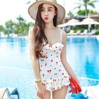 Wholesale Womens Swimsuit Swimwear Swimdress - Womens one piece swimwear swimsuit swimdress,size m l xl