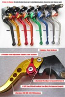Wholesale Honda Shorty Levers - Good Quality Motorcycle Brake Long   Shorty Lever Clutch Long   Shorty Lever fit KAWASAKI Er-6n 2009-2012 F-44   K-750 MT-L7609 M11615