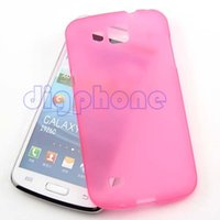 Wholesale Galaxy Premier Case Wholesale - Wholesale-Free Shipping TPU Silicone Gel Case Cover For Samsung Galaxy Premier I9260