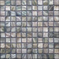 2016 Stil HYRX Shell Mosaik Fliesen Perlmutt Fliesen Farbstoff Grays Farbe  Großverkauf Der Fabrik; Küche Backsplash