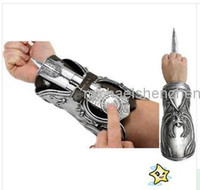 NECA Assassin's Creed Hidden Blade Fraternité Ezio Auditore Gauntlet Réplique Cosplay Pâques