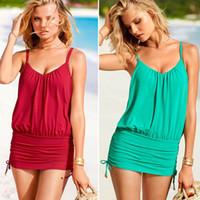 rote farbe badebekleidung großhandel-2015 neue heiße neue ankunft sommer beachwear mode sexy badeanzug frauen bikini bademode echt günstigen preis grüne und rote farbe frei