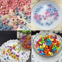 50 unids Pink Blue Mini chupetes para niña fiesta de Baby Shower Favor Cake Girl Boy Party juego decoración regalo para bebé