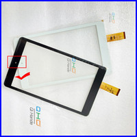 Wholesale Touchscreen Parts - Wholesale- NOTE THE CABLE, New 8'' inch Tablet PC Digitizer Touch Screen Panel Replacement part For CHUWI VI8 CW1519 Touchscreen Shipping