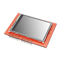 Wholesale Arduino Touch Shield - Wholesale-2.4 Inch TFT LCD Shield Touch Board Display Module For Arduino UNO