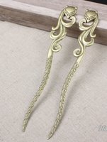 Wholesale 10PCS x25MM Vintage Antique Bronze Bookmarks Alloy Metal Charms Pendant DIY Jewelry findings