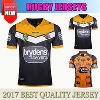 Wholesale Marvel Shipping - Free Shipping ISC Wests Tigers 2017 NRL Rocket Raccoon Marvel S S Ltd Edition Rugby Shirt Best Quality West Tiger Super Rugby Jersey