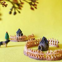 ingrosso fate in vendita in miniatura-vendita ~ 10 Pz recinzione / bar // fairy garden gnome / moss terrario home decor / artigianato / bonsai / bottiglia da giardino / miniature / fai da te forniture
