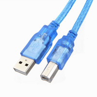 Wholesale High Speed Printer Cable - 5FT 1.5m USB 2.0 A to B Male M M Printer High Speed Cable Cord Plug Scanner