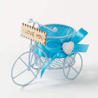 Wholesale fairy favor boxes - Romantic Fairy Carriage Wedding Candy Chocolate Favor Boxes Party Decoration Box 8 Colors Available Free Shipping