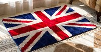 Wholesale free matting - Hot Sale Floor Hallway Indoor Outdoor Carpets Doormats Pad Matting Protect Rugs Floor Cover Flag England Area Rugs Free Shipping