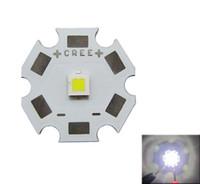 lente branca quente venda por atacado-CREE XPL XP-L Branco / Branco Quente Emissor de Luz LED Sem Lente 20mm 16mm 14mm 12mm 8mm Placa PCB