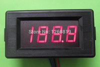 requisito di potere Wholesale-DC 200V Red LCD volt voltmetro tester di pannello digitale DC12V