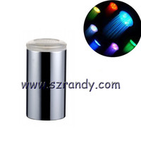 Wholesale Led Faucets Adaptor - Tiny LED Faucet Flashing Light Waterflow Electricity Aerator +24mm Thread Adaptor