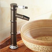 ingrosso rubinetti a mano singola in bronzo-Spedizione gratuita dual maniglie singolo foro 12