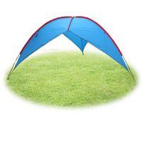 Wholesale gazebo tents online - FLYTOP big outdoor awning Sun Shelter camping shade canopy gazebo Camouflage tent Fishing Hiking iron Sunshade