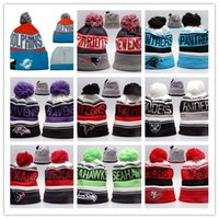 Good Sale Beanies Hats American Football 32 equipes Beanies Sports inverno linha lateral knit caps Beanie Knitted Chapéus queda shippping B08