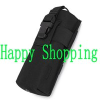 Wholesale Jogging Accessories - Black Tactical molle pouch bag accessories small talkie radio tools bag