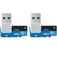 Wholesale Tablet Readers - 2016 new 32GB 64GB 128GB microSDXC UHS-II 1000X High-Performance U3 Memory Card & USB 3.0 Reader 2-Pack 150MB s for tablet PC