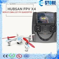 Wholesale 4ch Remote Control Transmitter - Quadcopter 4CH 6 Axis Camera Drone Quadcopter Drone Hubsan X4 H107D FPV Drone w  Remote Control Transmitter Real time,wu