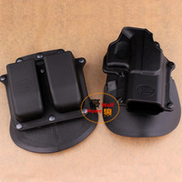 Wholesale Tactical Gun Pistol - Free shipping! FOBUS GL 2 Paddle Pistol Holster for Glock 17 19 22 23 31 32 34 35, gun holster, tactical holster, wholesale