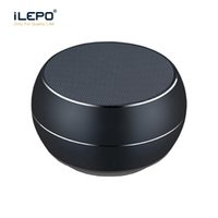 Wholesale Mp3 Retail Packaging - Mini Wireless Speaker Bluetooth 4.1 Portable Colorful Metal Subwoofer Support TF Card With Multifunction Wheel English Retail Package