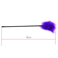 Wholesale halloween adult fancy dress - Purple Feather Tickler Naughty Spanking Aid Toy Sex Products Adult Game Tool Fancy Dress Purple Color