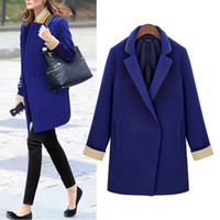 Hodisytian Winter New Fashion Women Blazers Элегантные женские костюмы Loose Full Sleeve Blaser Feminino Solid Long Coat Plus Размер