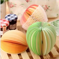Wholesale Mix Order Creative Fruit shaped Note Notebook Diary Book Pad Fruit Vegetable Notes Memo Pad Paper Message Note Book