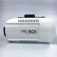Wholesale vr box online - Head Mount VR BOX Version VR Glasses Virtual Reality Glasses Rift Google Cardboard D Movie for quot For Smart Phone