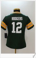 Womens New Color Rush Estilo # 12 Aaron Rodgers American College Football Stitched Uniforms Embroidery Sports Team Pro Jerseys Frete Grátis
