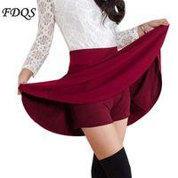 Wholesale Pleated Brown Skirts - Summer Style Korean version Skirts bust short dress women's spring and summer high waist pleated Summer skirt
