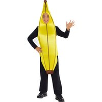 Wholesale Bananas Music - SP Funworld Halloween Cosplay Children's Banana Costume Child Size Standard