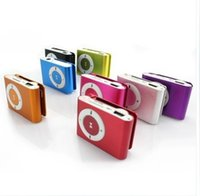 Wholesale Mini Clip Mp3 Recorder - Mini Metal Clip Mp3 Player Supports up to 8gb Tf Card micro Sd Card Play Time 5-6 Hours,support Mp3 Format (Without TF Card)